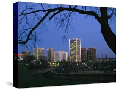 The Richmond, Virginia Skyline at Twilight
