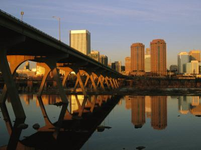 The Richmond, Virginia Skyline at Twilight by Medford Taylor