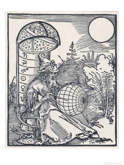 Mediaeval Astronomer-Albrecht D?rer-Giclee Print