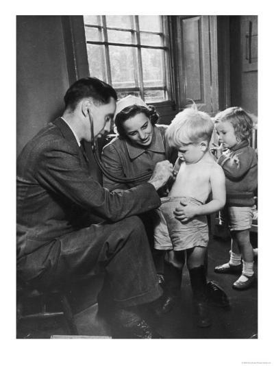 Medical Examination 1940--Giclee Print