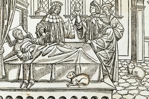 Medical History, Doctors with a Patient,, 16th Century