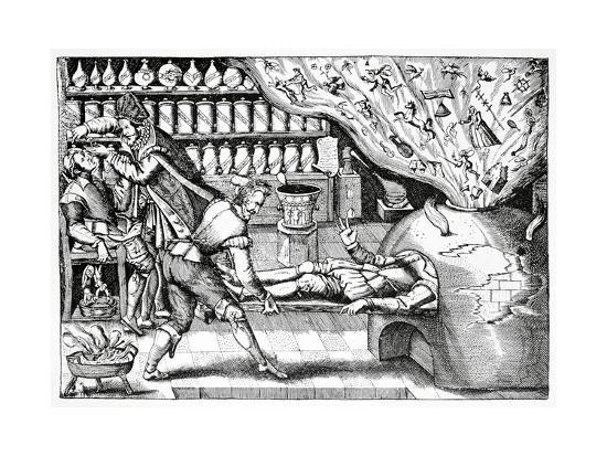 Medical Purging, Satirical Artwork-Science Photo Library-Giclee Print