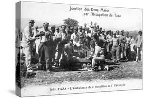Medical Staff of the 2nd Battalion French Foreign Legion, Taza, Morocco, 1904