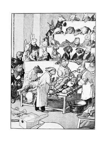 Medical Vivisection, Satirical Artwork-Science Photo Library-Giclee Print