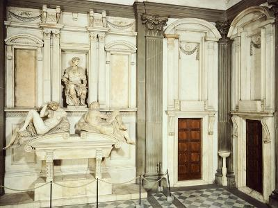 Medici Tombs, 16th Century, New Sacristy, Basilica of St Lawrence, Florence, Italy, 16th Century--Giclee Print