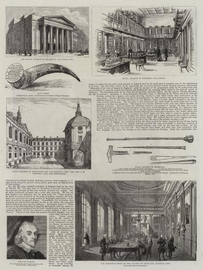 Medicine and Surgery in England--Giclee Print