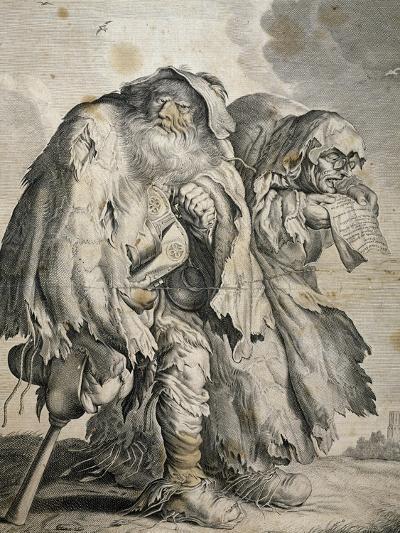 Medicine Men, by Adriaen Matham (1590-1660), 17th Century--Giclee Print
