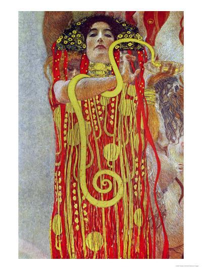 Medicine, Part of the Ceiling Fresco for the Vienna University, 1900/07-Gustav Klimt-Giclee Print
