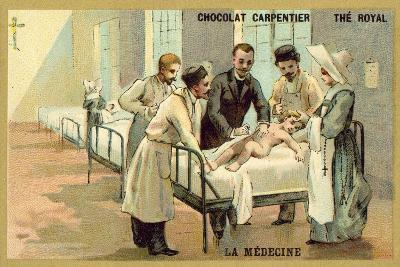 Medicine--Giclee Print