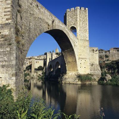 Medieval Bridge, Besalu, Catalunya (Costa Brava), Spain-Stuart Black-Photographic Print