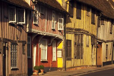 Medieval Buildings in Lavenham, Suffolk, England, United Kingdom, Europe-Craig Easton-Photographic Print