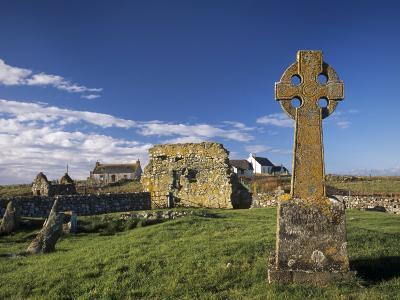 Medieval Burial Ground and Chapels, at Howmore, South Uist, Outer Hebrides, Scotland-Patrick Dieudonne-Photographic Print