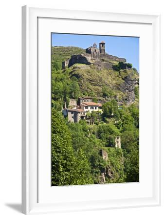 Medieval Castle Dating from the 15th Century, France-Guy Thouvenin-Framed Photographic Print