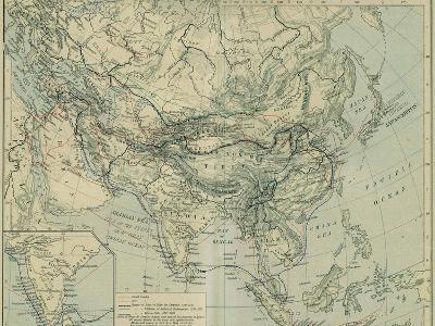Medieval Commerce from the Historical Atlas-William Robert Shepherd-Giclee Print