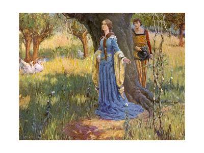 Medieval Couple, Mccaig-Robert McCaig-Giclee Print