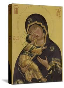 Medieval Depiction of Mary and Baby Jesus