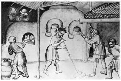 Medieval Glassworks, C1300--Giclee Print