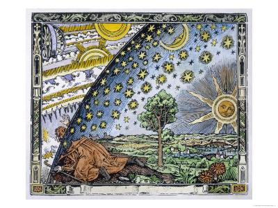 Medieval Missionary Finds a Place Where the Earth Touches Heaven--Giclee Print