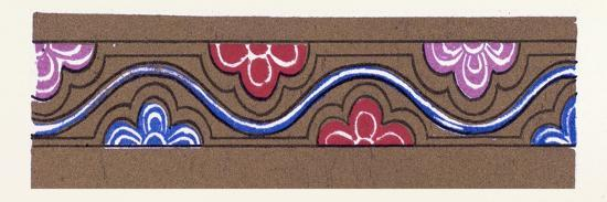 Medieval Ornament--Giclee Print