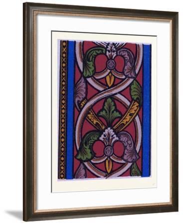 Medieval Ornament--Framed Giclee Print