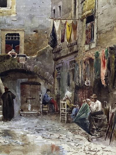 Medieval Remains in Ghetto of Rome--Giclee Print