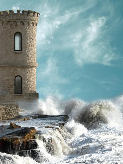 Medieval Tower-justdd-Art Print