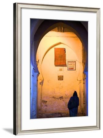 Medina, Fez, Morocco, North Africa, Africa-Neil-Framed Photographic Print
