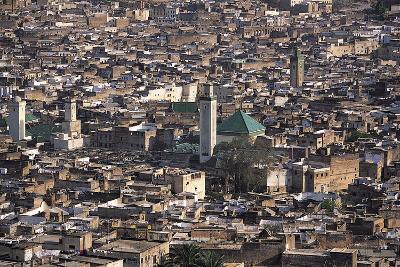 Medina, Fez, Morocco-Adam Woolfitt-Photographic Print