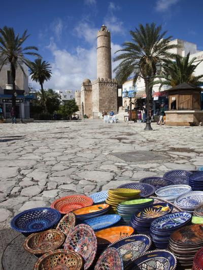 Medina Market by the Great Mosque, Sousse, Tunisia-Walter Bibikow-Photographic Print