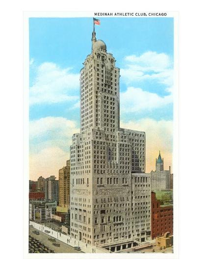 Medinah Athletic Club, Chicago, Illinois--Art Print