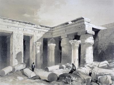 Medinet Abou, Thebes, Egypt, 19th Century-Henry Pilleau-Giclee Print