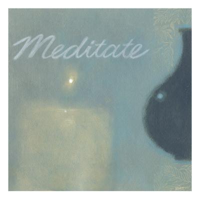 Meditate-Norman Wyatt Jr^-Art Print