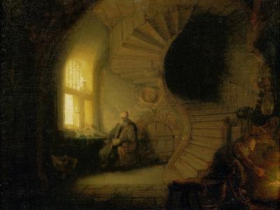 Meditating Philosopher, 1632-Rembrandt van Rijn-Giclee Print