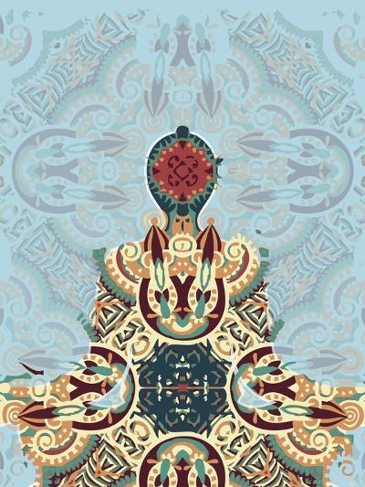 Meditating-Teofilo Olivieri-Giclee Print