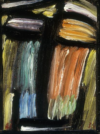 Meditation, 1936-Alexej Von Jawlensky-Giclee Print