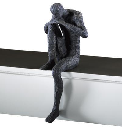 Meditation Man Shelf Decor *