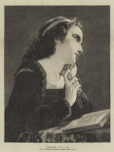 Meditation-Pierre-Auguste Cot-Giclee Print