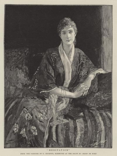 Meditation--Giclee Print