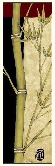 Meditative Bamboo Panel III-Jennifer Goldberger-Art Print