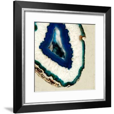 Mediterranean Agate B--Framed Premium Photographic Print