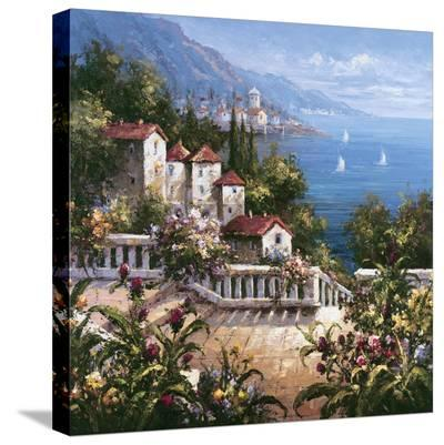 Mediterranean Arches III-Gabriela-Stretched Canvas Print