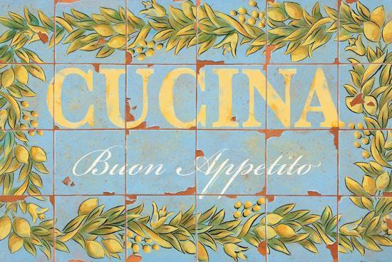 Mediterranean Cucina-Michael Letzig-Art Print