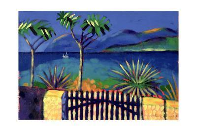 Mediterranean Garden-Sara Hayward-Giclee Print