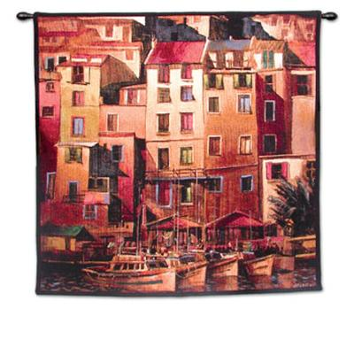 Mediterranean Gold-Michael O'Toole-Wall Tapestry