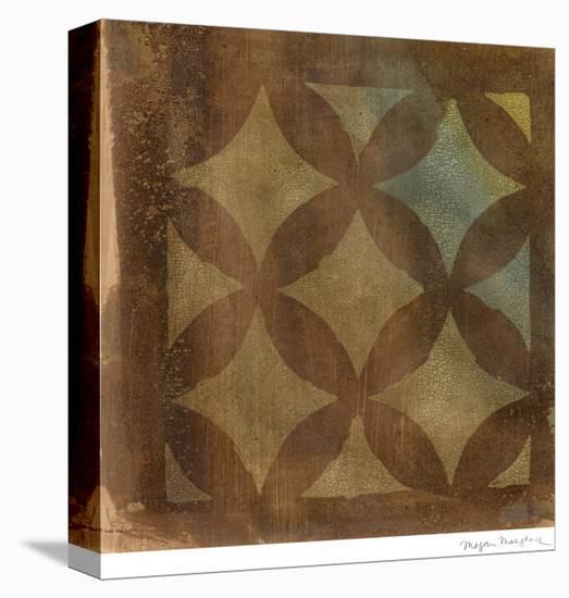 Mediterranean Impressions III-Megan Meagher-Stretched Canvas Print