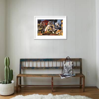 Mediterranean Landscape Art Print Pablo Picasso Art Com