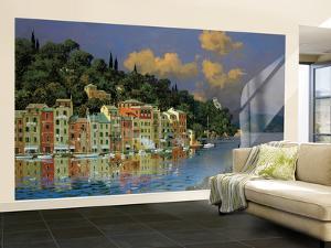 Mediterranean Large Huge Mural Art Print Poster