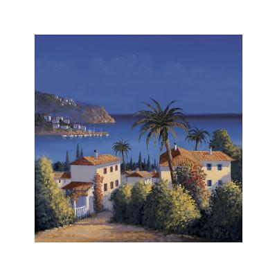 Mediterranean Morning Shadows I-David Short-Giclee Print