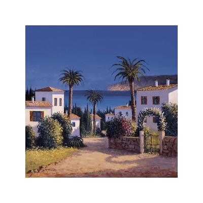 Mediterranean Morning Shadows II-David Short-Giclee Print