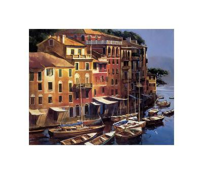 Mediterranean Port-Michael O'Toole-Giclee Print